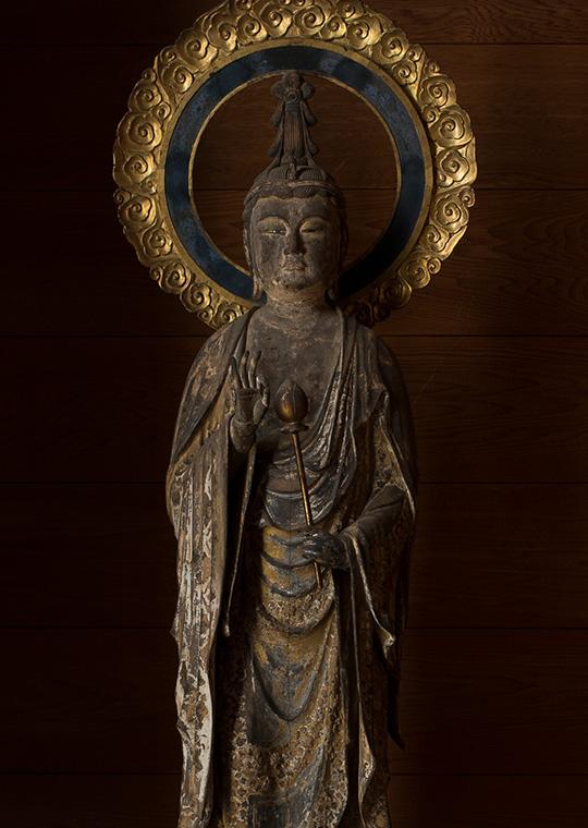 木造 聖観音立像