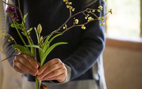 挿し花イメージ