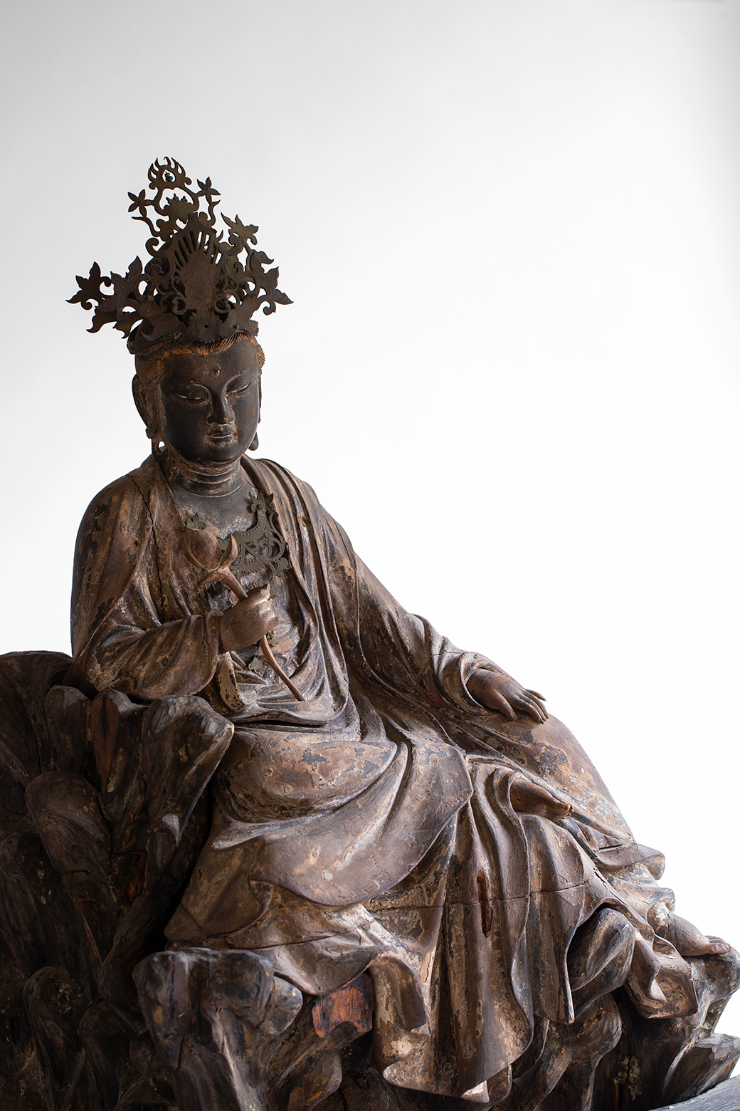 東慶寺の水月観音